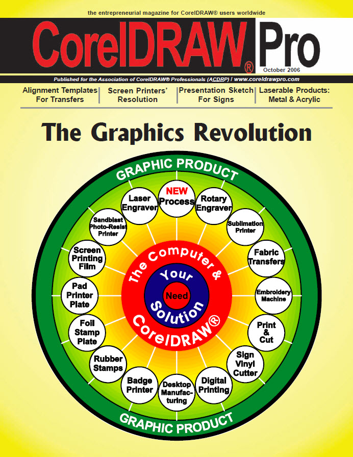 CorelDRAW Pro Magazine - October 2006
