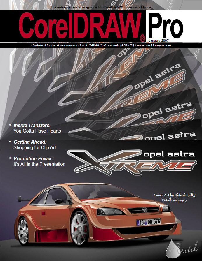 CorelDRAW Pro Magazine - January 2007