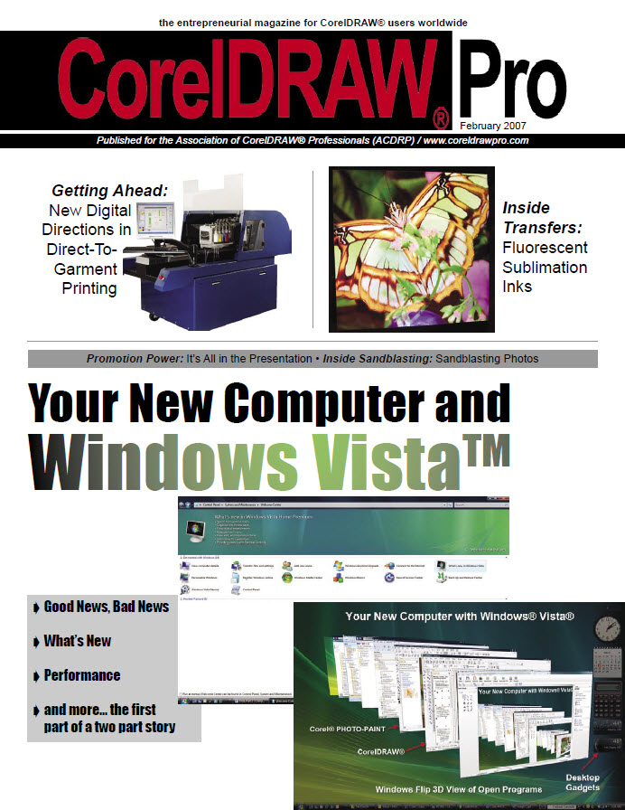 CorelDRAW Pro Magazine - February 2007