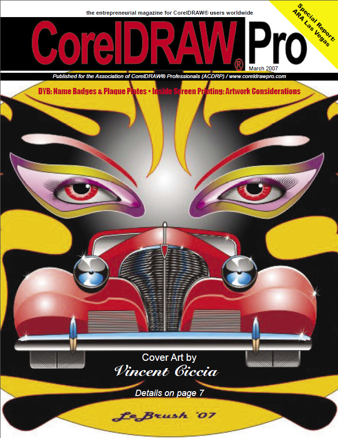 CorelDRAW Pro Magazine - March 2007