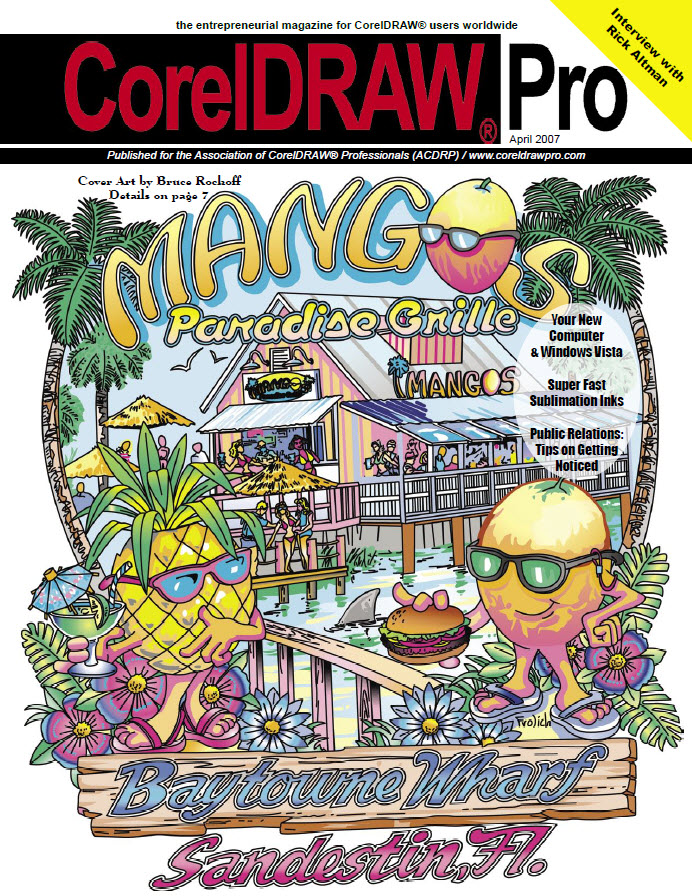 CorelDRAW Pro Magazine - April 2007