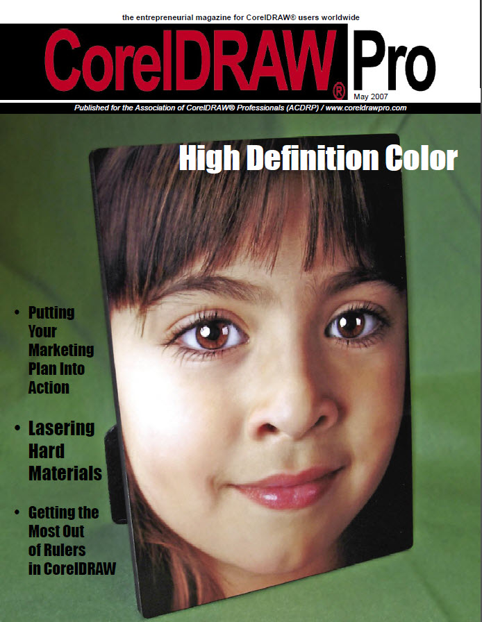 CorelDRAW Pro Magazine - May 2007