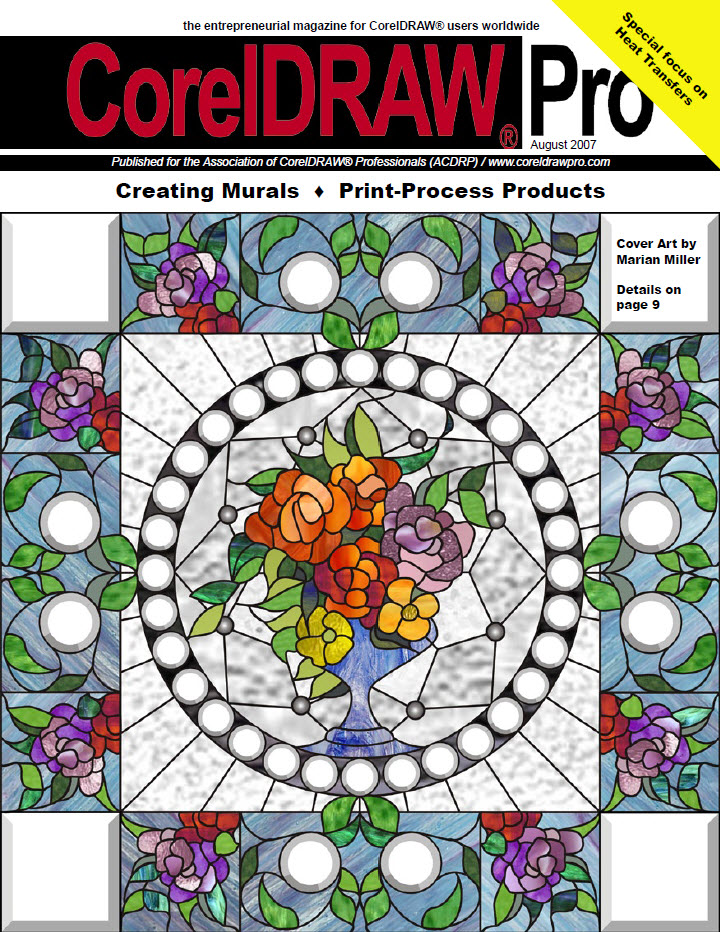 CorelDRAW Pro Magazine - August 2007