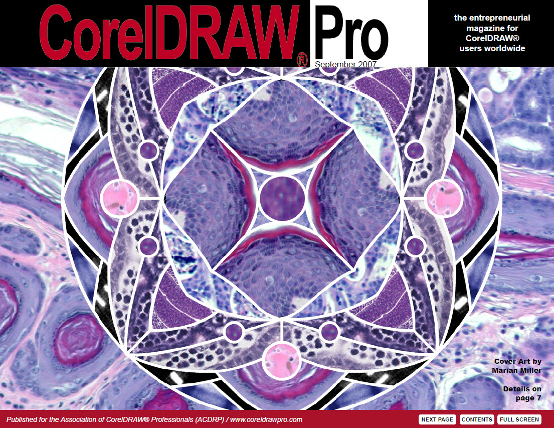 CorelDRAW Pro Magazine - September 2007