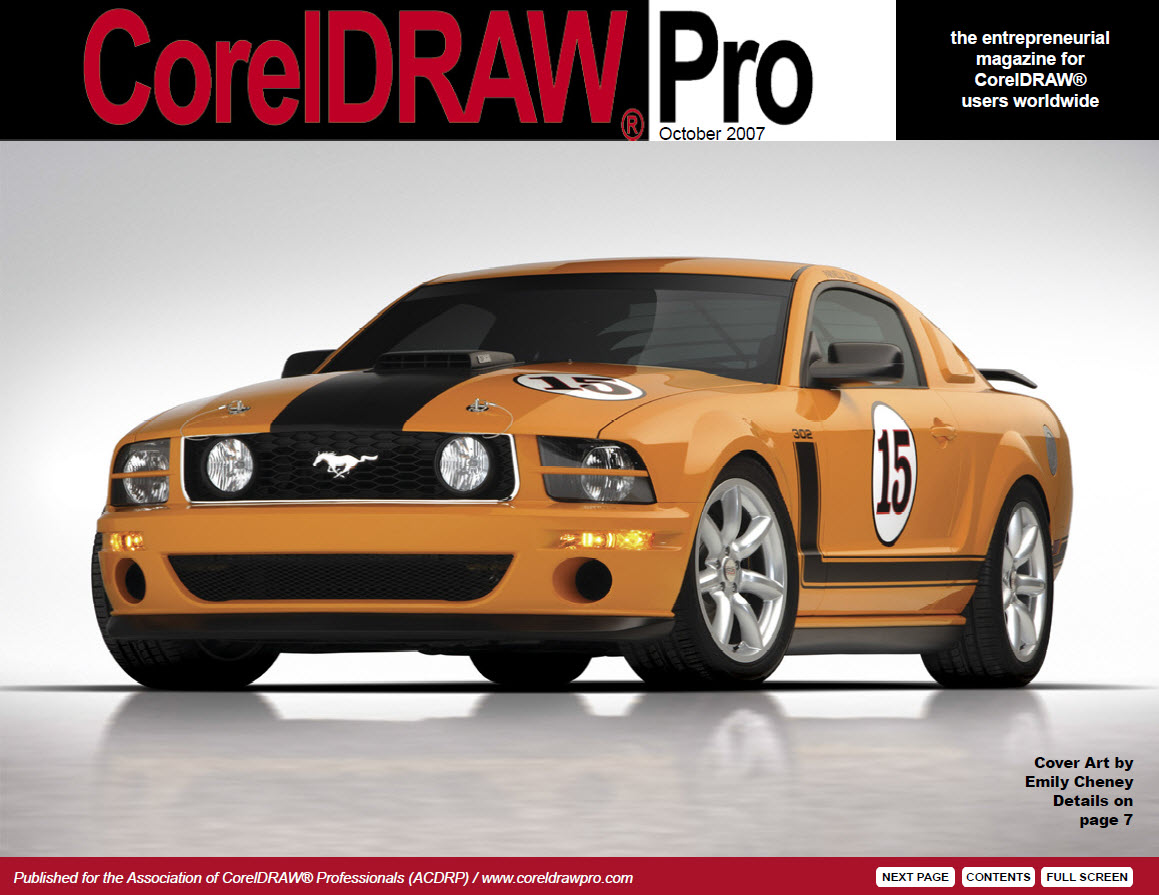 CorelDRAW Pro Magazine - October 2007