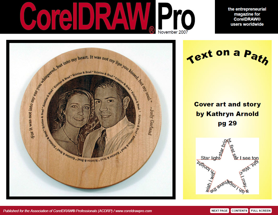 CorelDRAW Pro Magazine - November 2007
