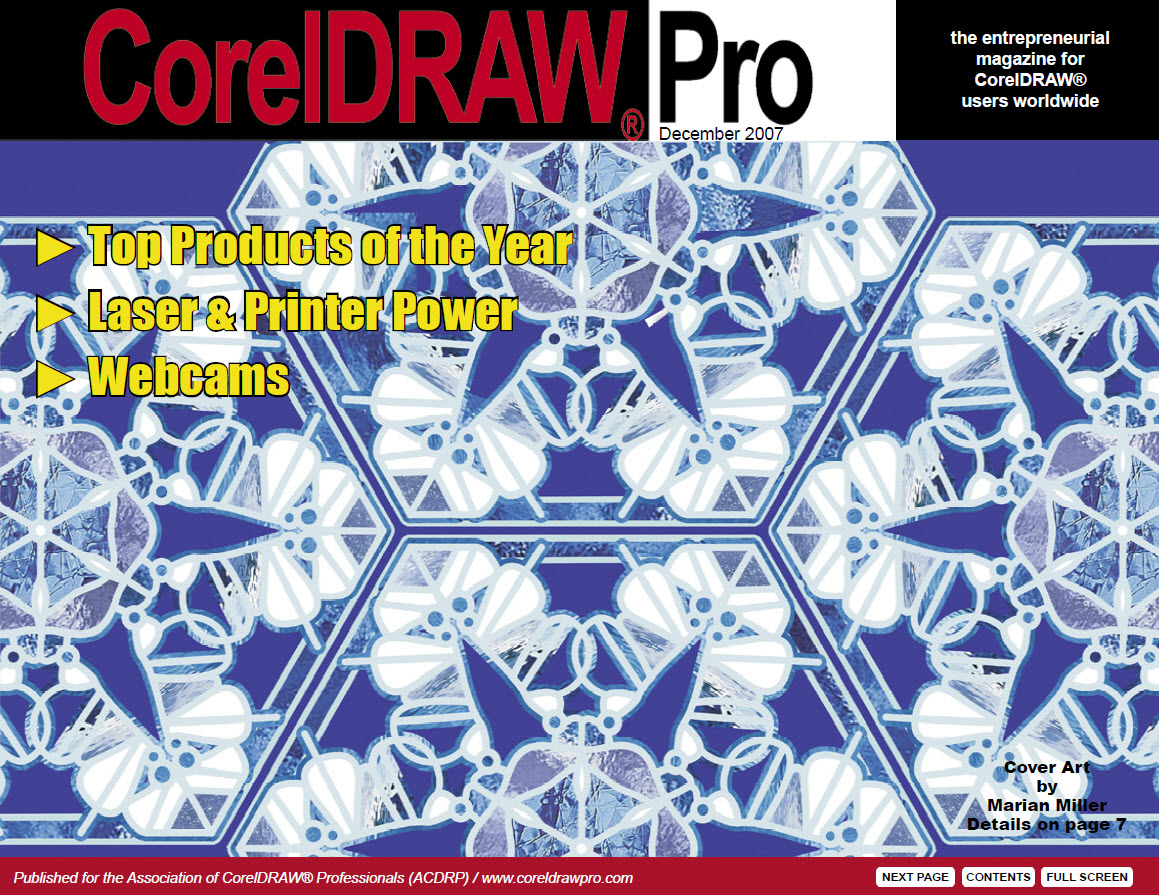 CorelDRAW Pro Magazine - December 2007