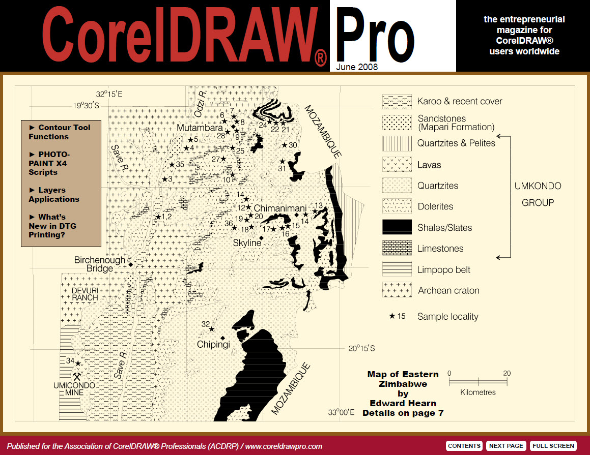 CorelDRAW Pro Magazine - June 2008