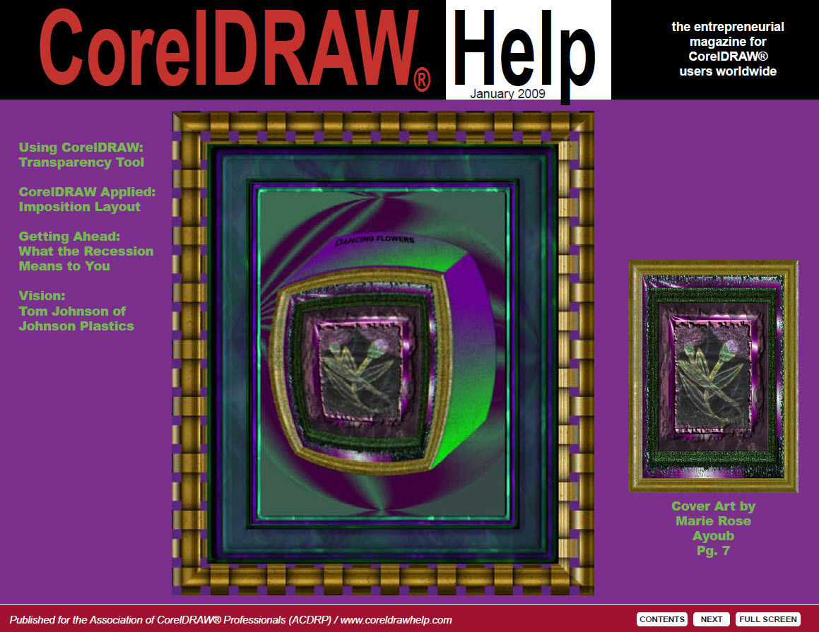 CorelDRAW Help Magazine - January 2009
