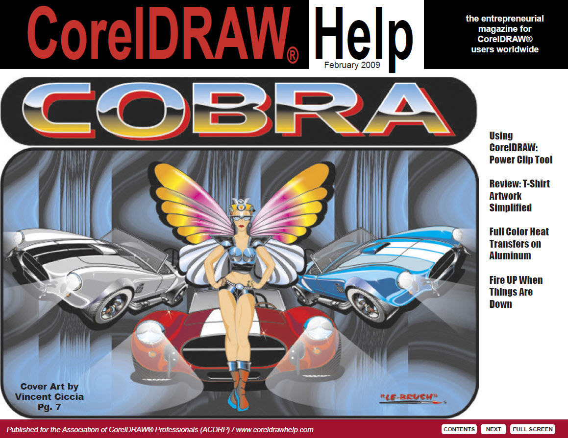 CorelDRAW Help Magazine - February 2009