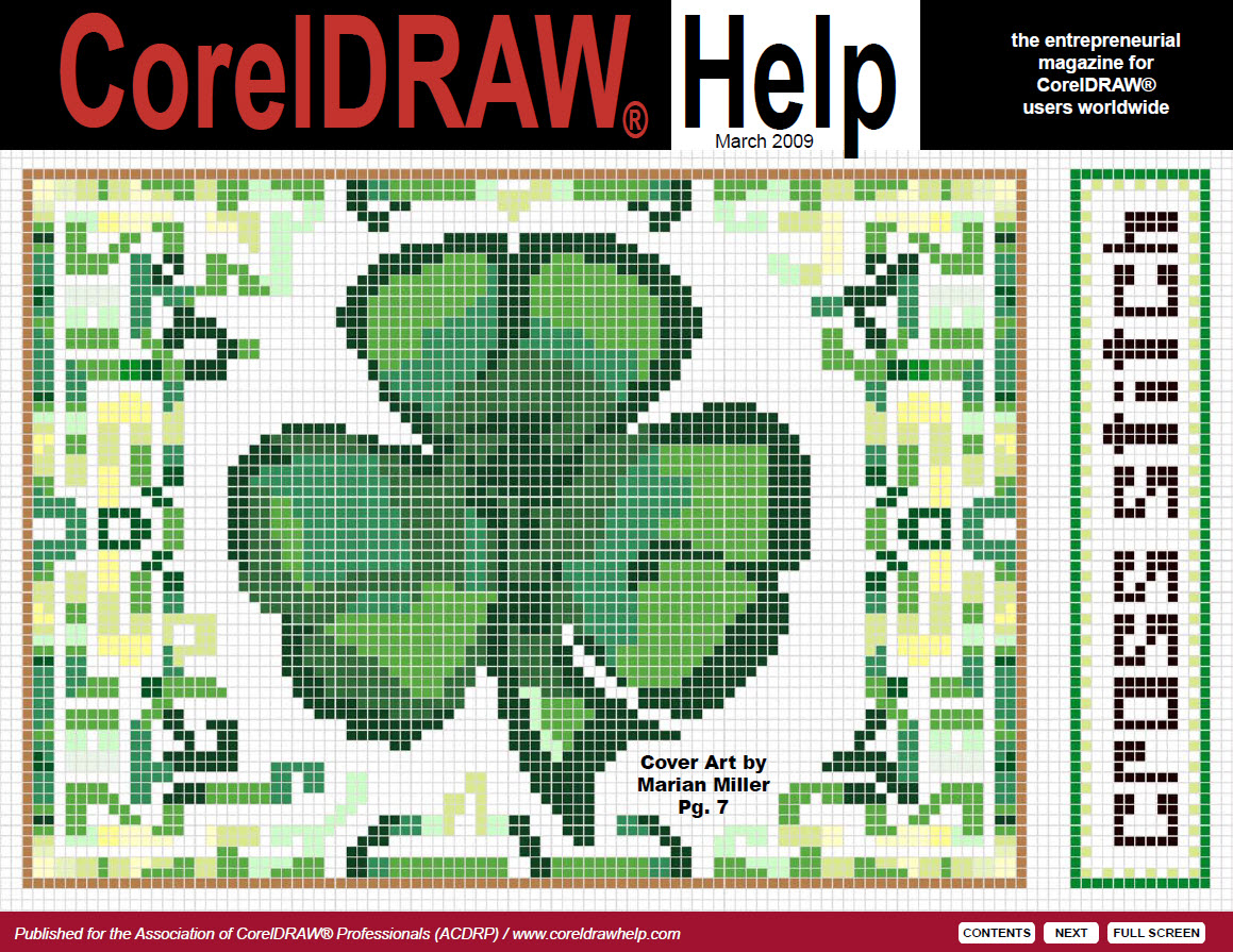 CorelDRAW Help Magazine - March 2009