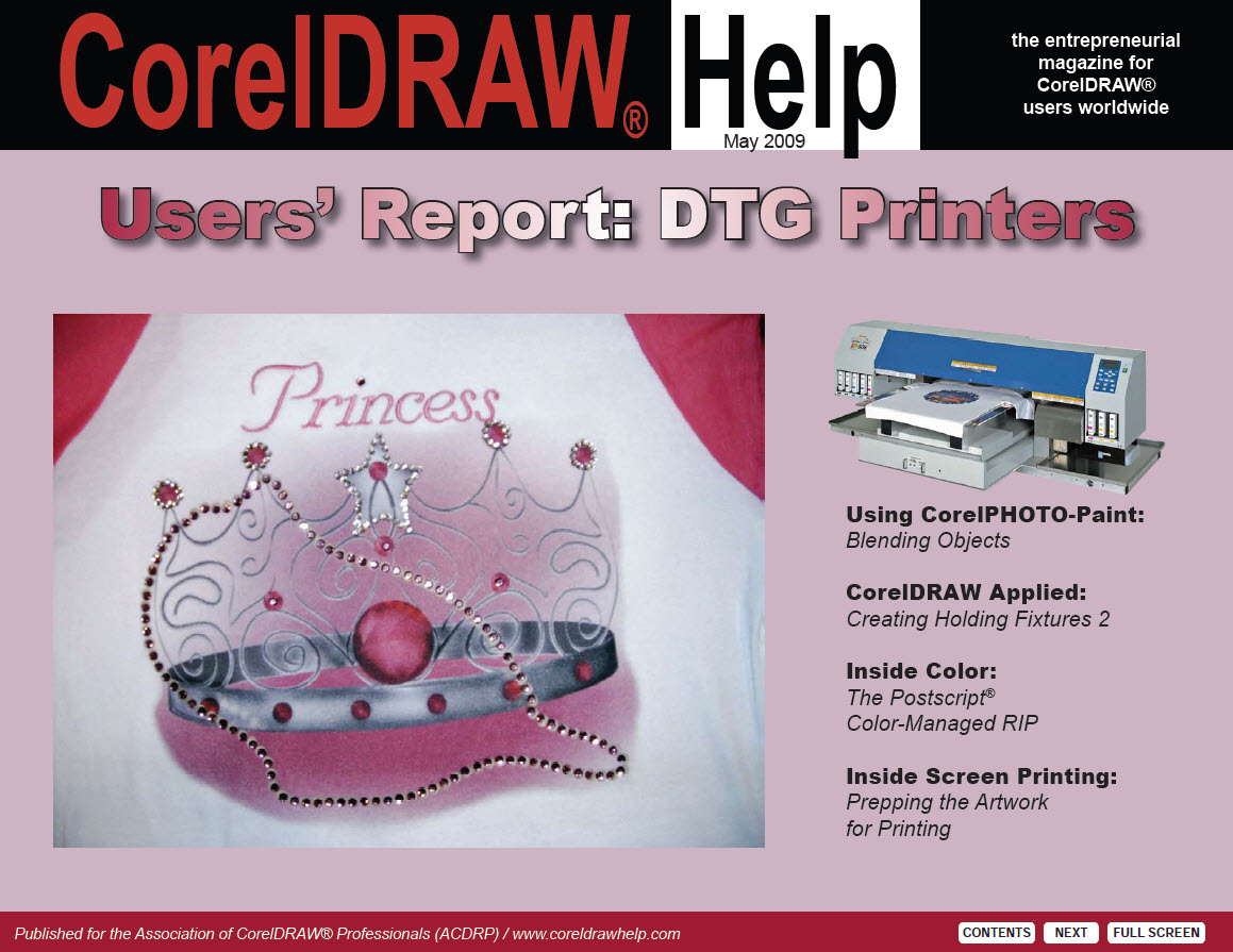 CorelDRAW Help Magazine - May 2009