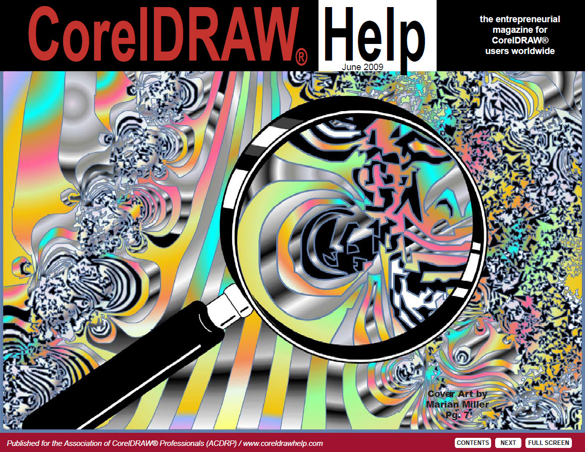 CorelDRAW Help Magazine - June 2009