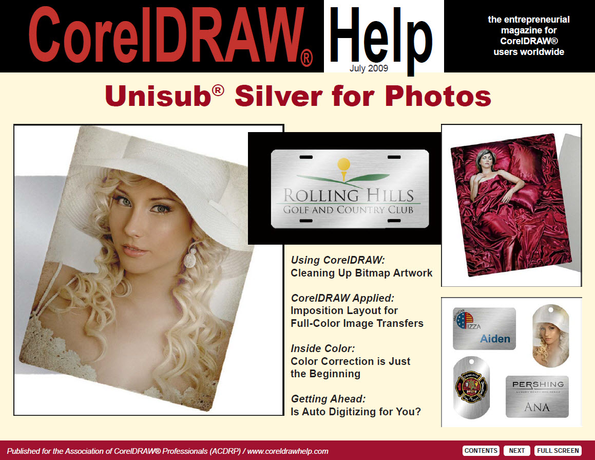 CorelDRAW Help Magazine - July 2009