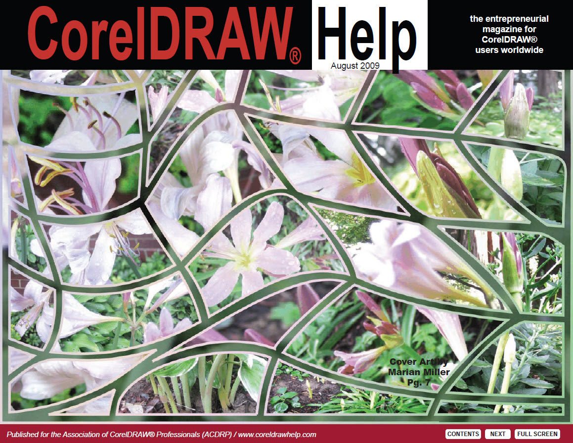 CorelDRAW Help Magazine - August 2009