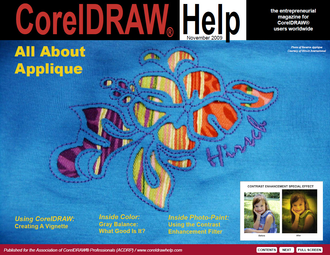 CorelDRAW Help Magazine - November 2009