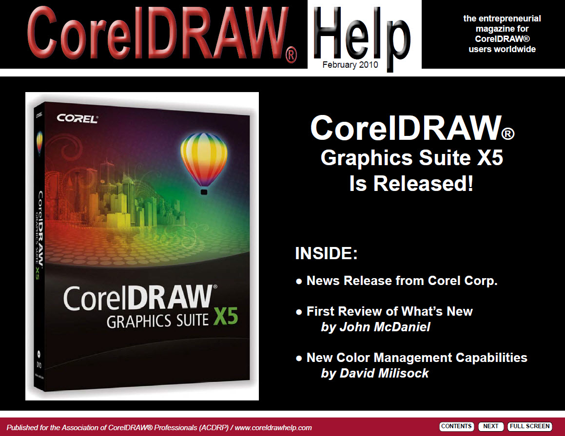 CorelDRAW Help Magazine - February 2010