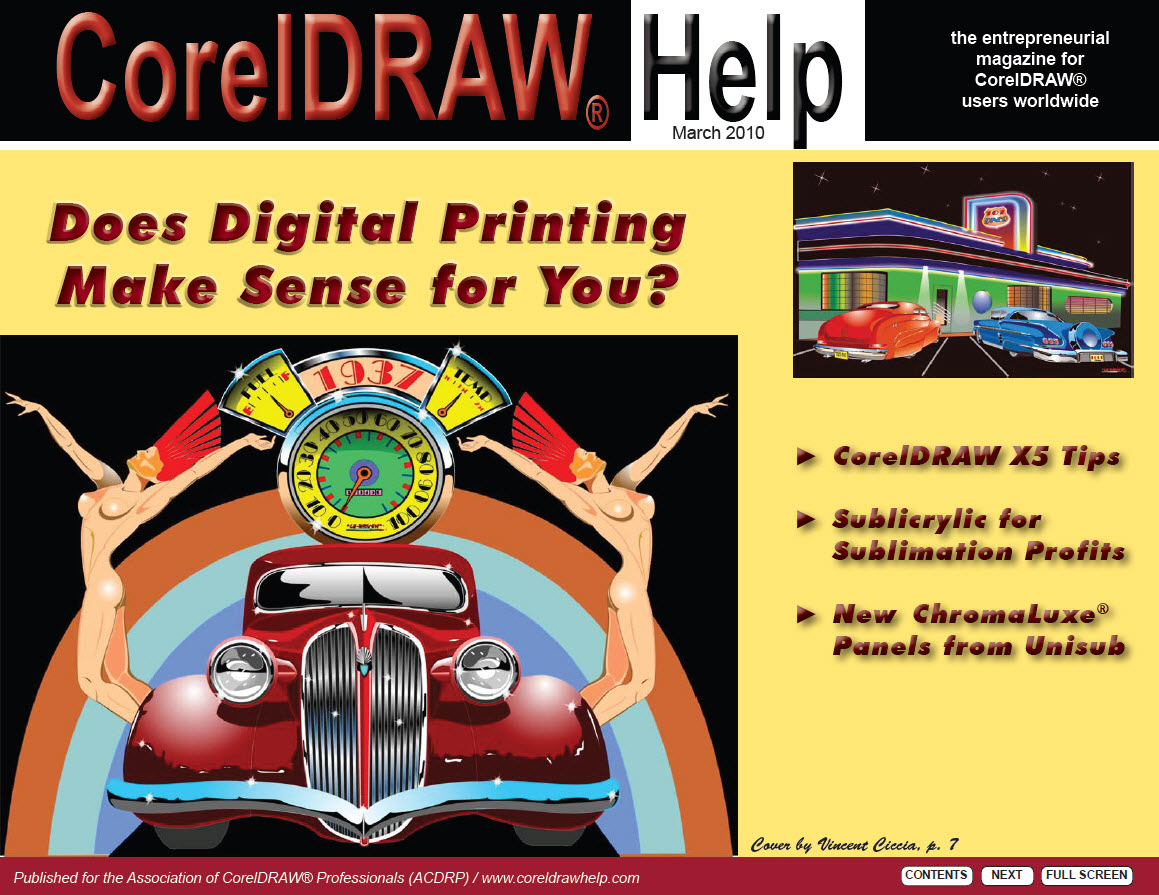 CorelDRAW Help Magazine - March 2010