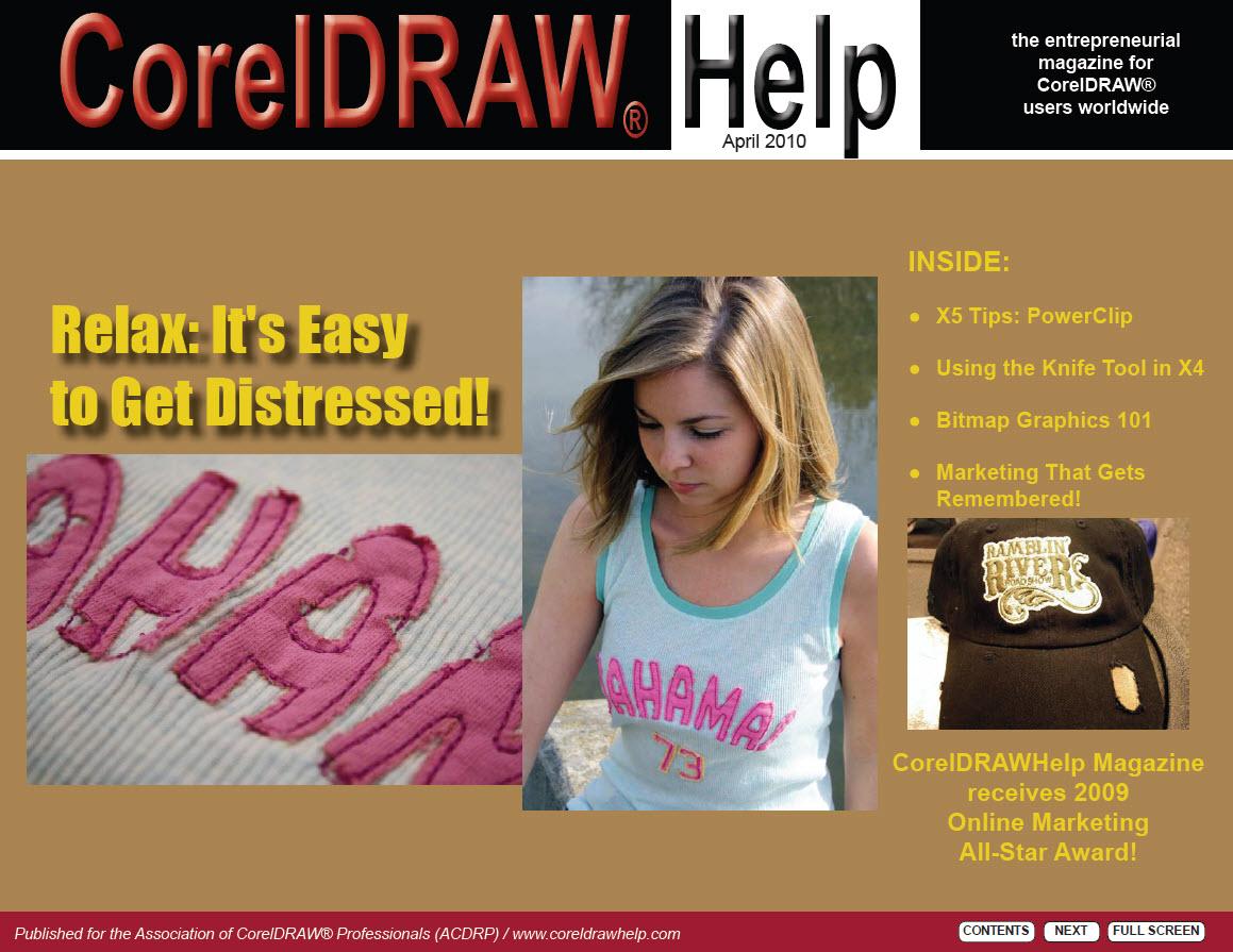 CorelDRAW Help Magazine - April 2010