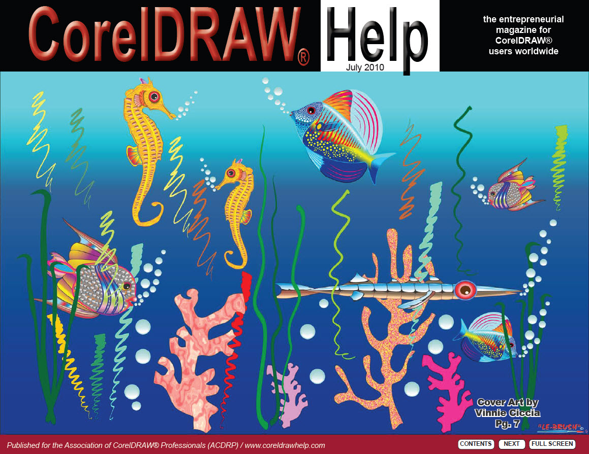 CorelDRAW Help Magazine - July 2010