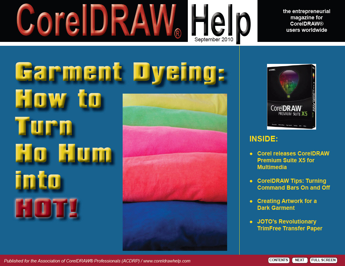 CorelDRAW Help Magazine - September 2010