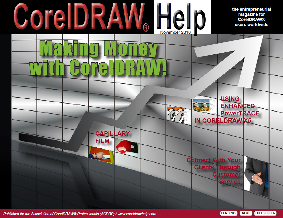CorelDRAW Help Magazine - November 2010