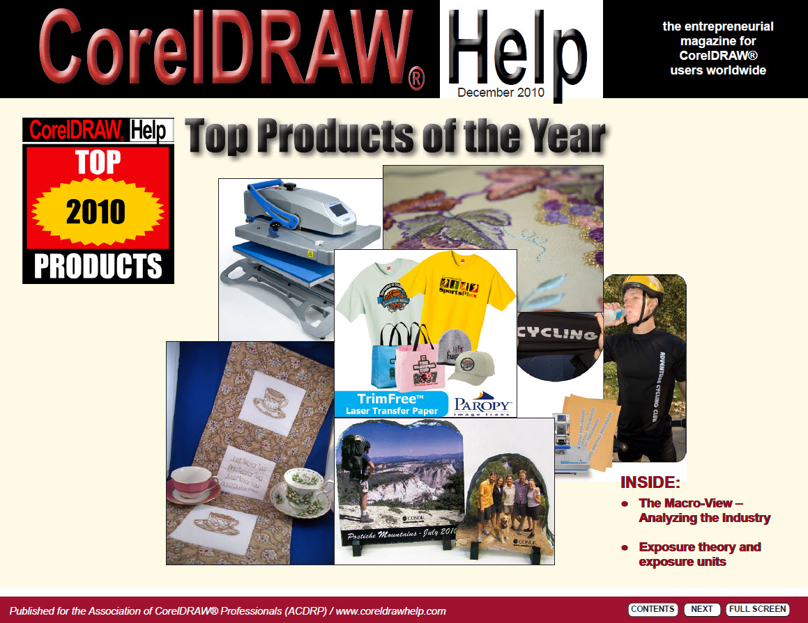 CorelDRAW Help Magazine - December 2010