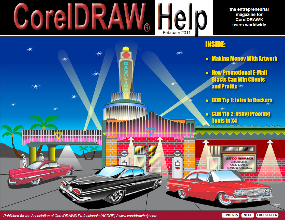 CorelDRAW Help Magazine - February 2011