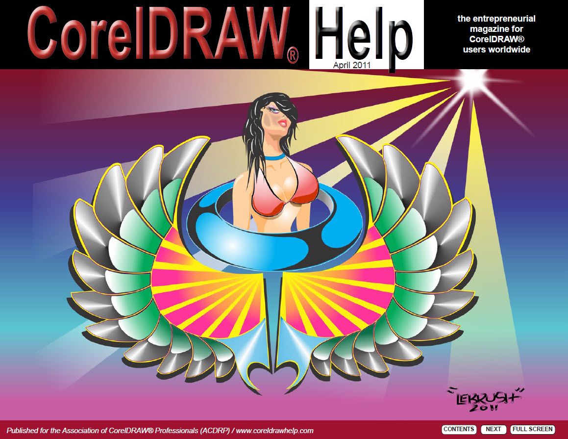 CorelDRAW Help Magazine - April 2011