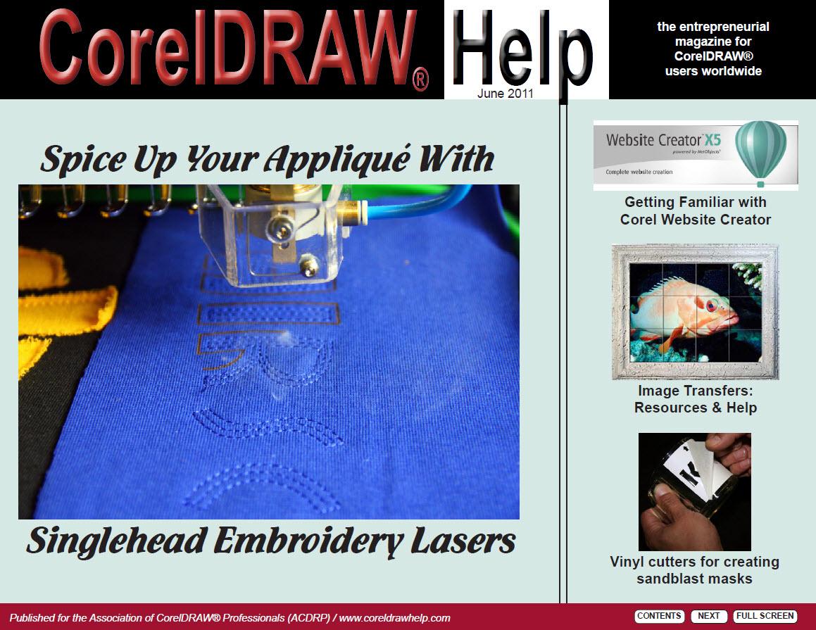 CorelDRAW Help Magazine - June 2011