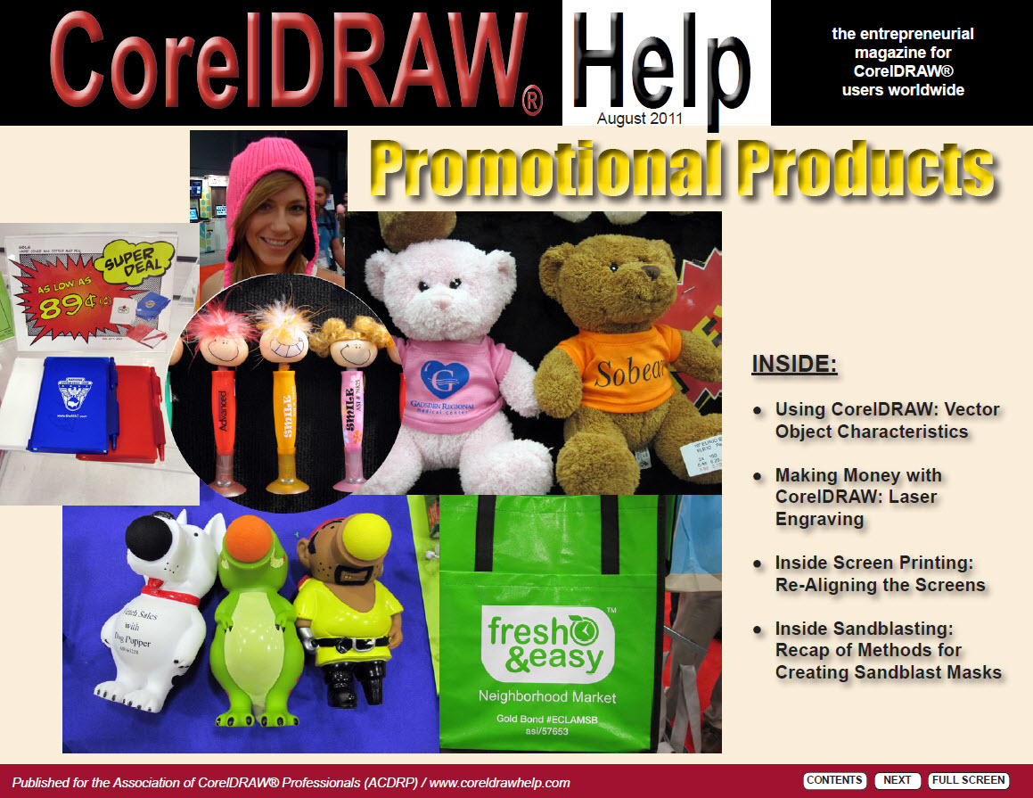 CorelDRAW Help Magazine - August 2011