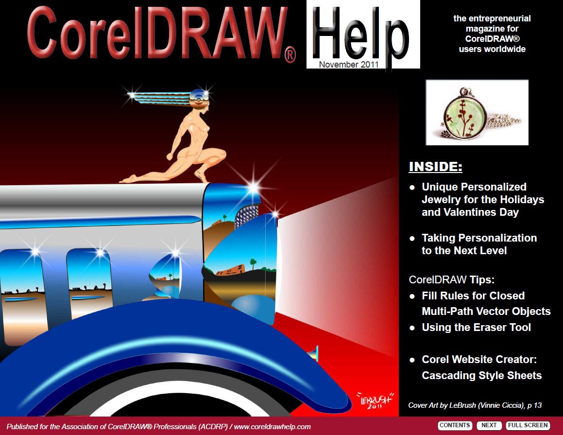 CorelDRAW Help Magazine - November 2011
