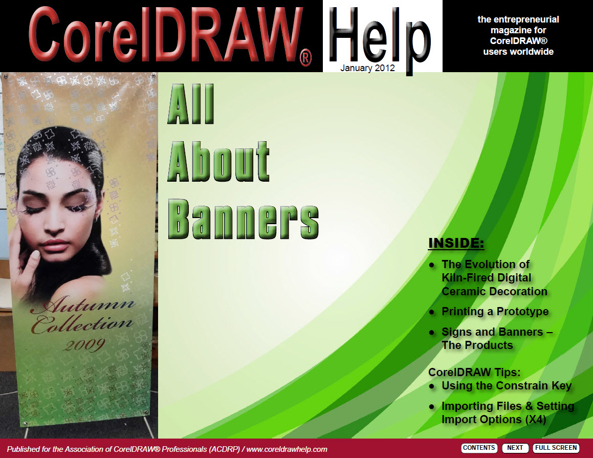 CorelDRAW Help Magazine - January 2012