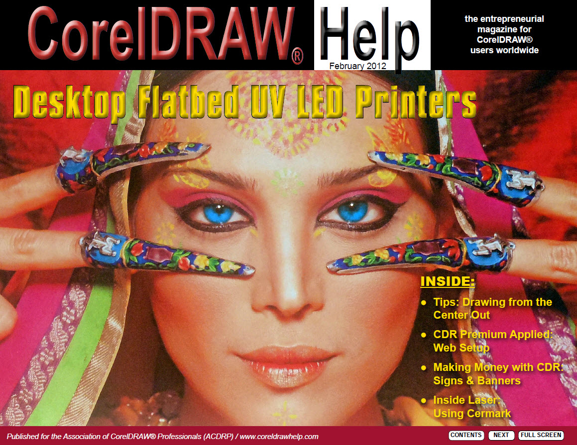 CorelDRAW Help Magazine - February 2012
