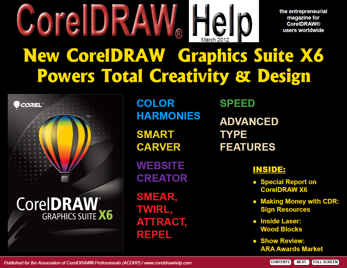 CorelDRAW Help Magazine - March 2012