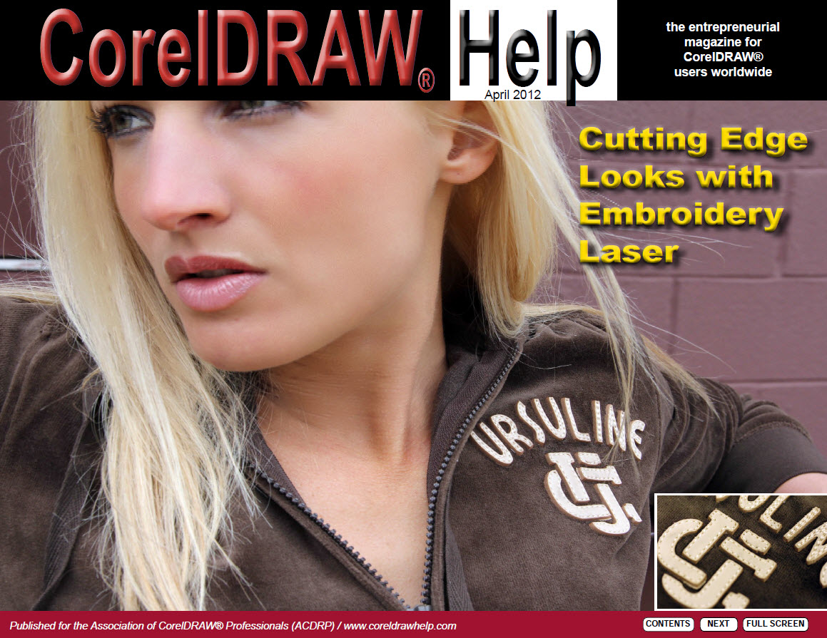 CorelDRAW Help Magazine - April 2012