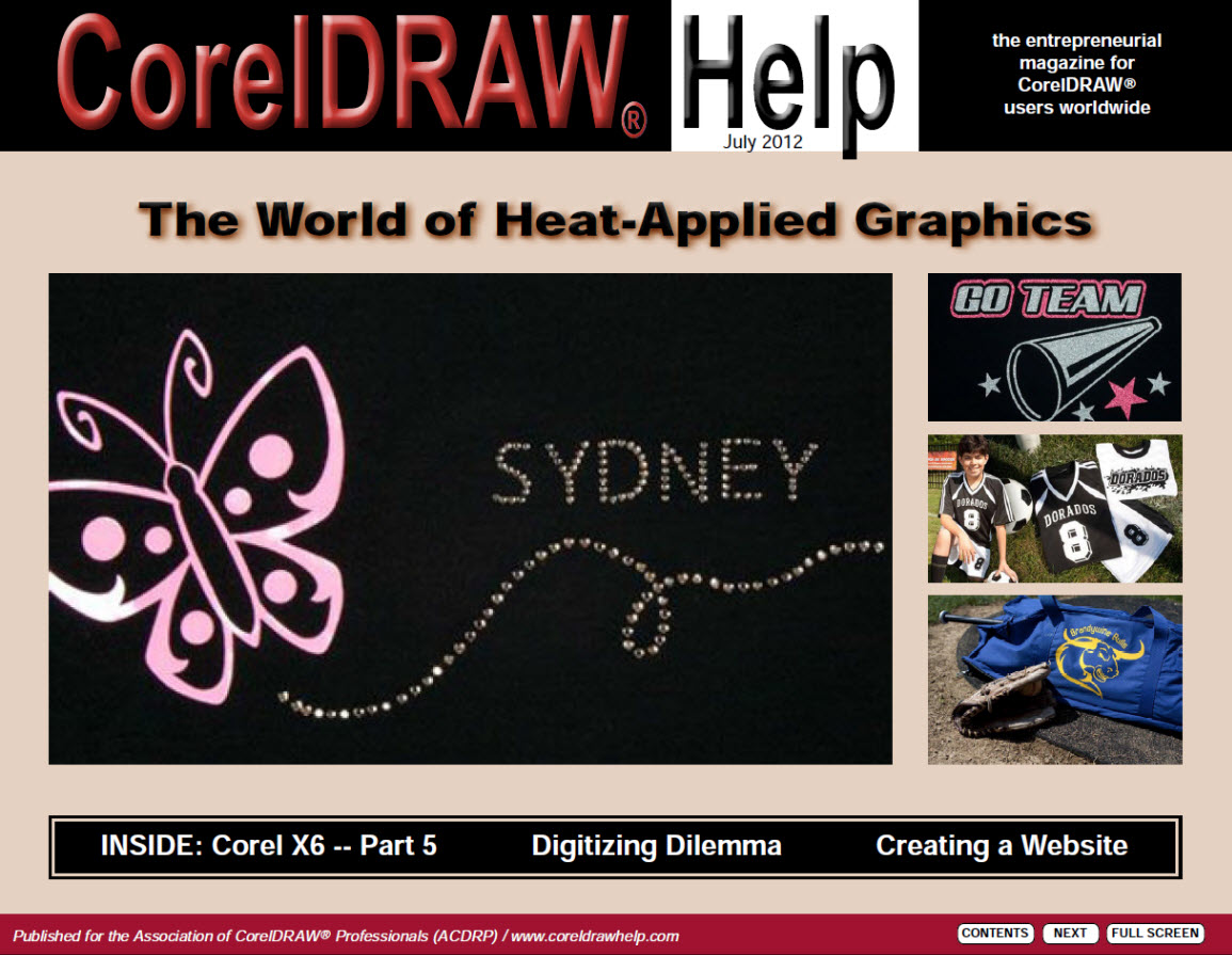 CorelDRAW Help Magazine - July 2012