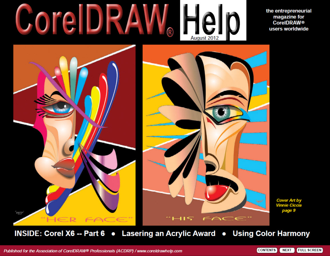 CorelDRAW Help Magazine - August 2012