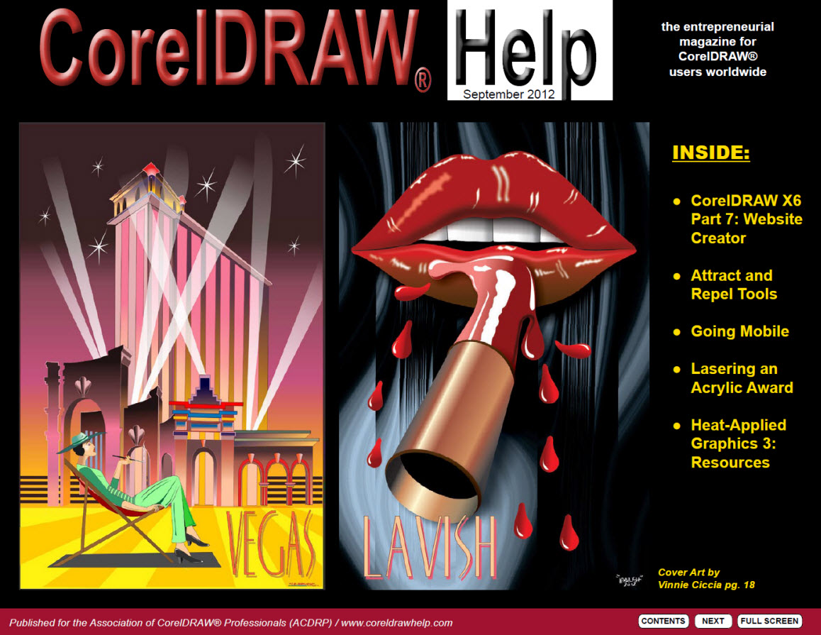 CorelDRAW Help Magazine - September 2012