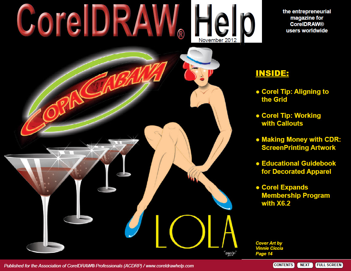 CorelDRAW Help Magazine - November 2012