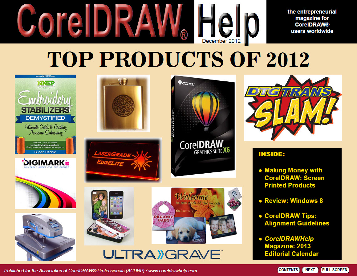 CorelDRAW Help Magazine - December 2012