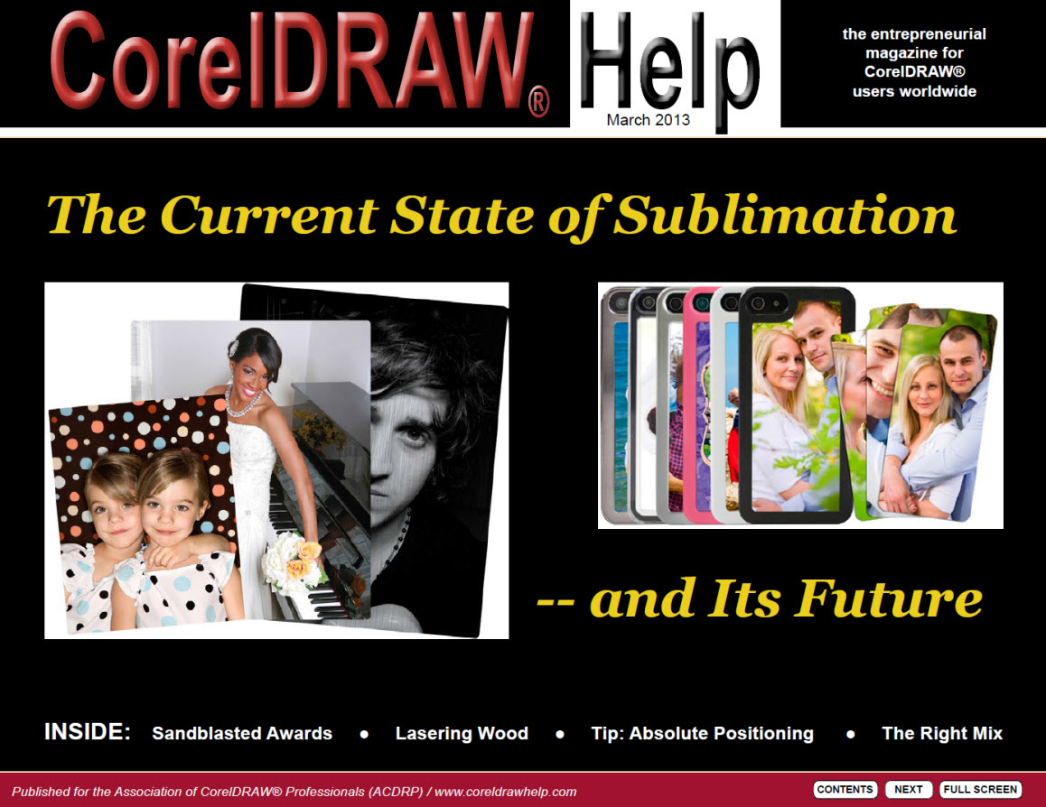 CorelDRAW Help Magazine - March 2013