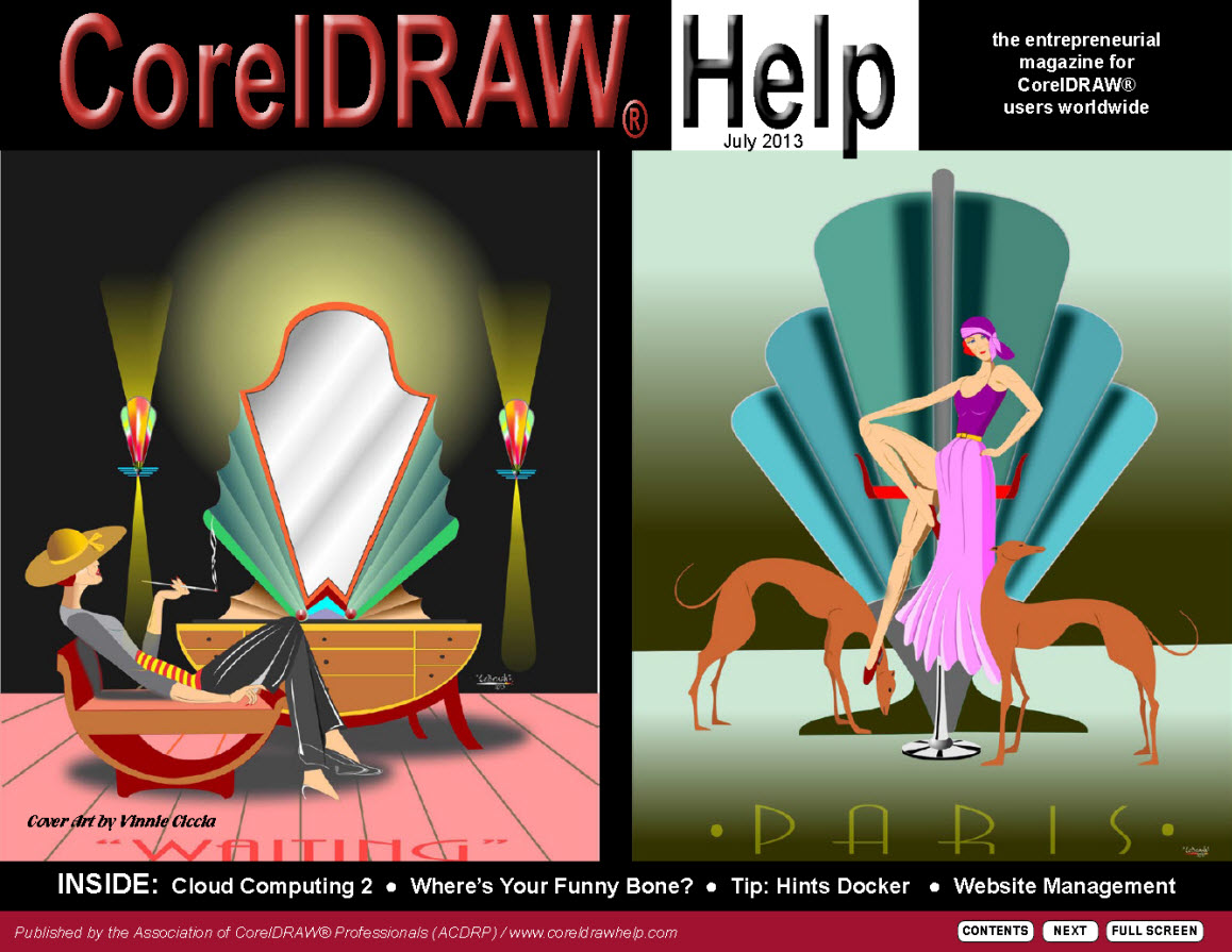 CorelDRAW Help Magazine - July 2013