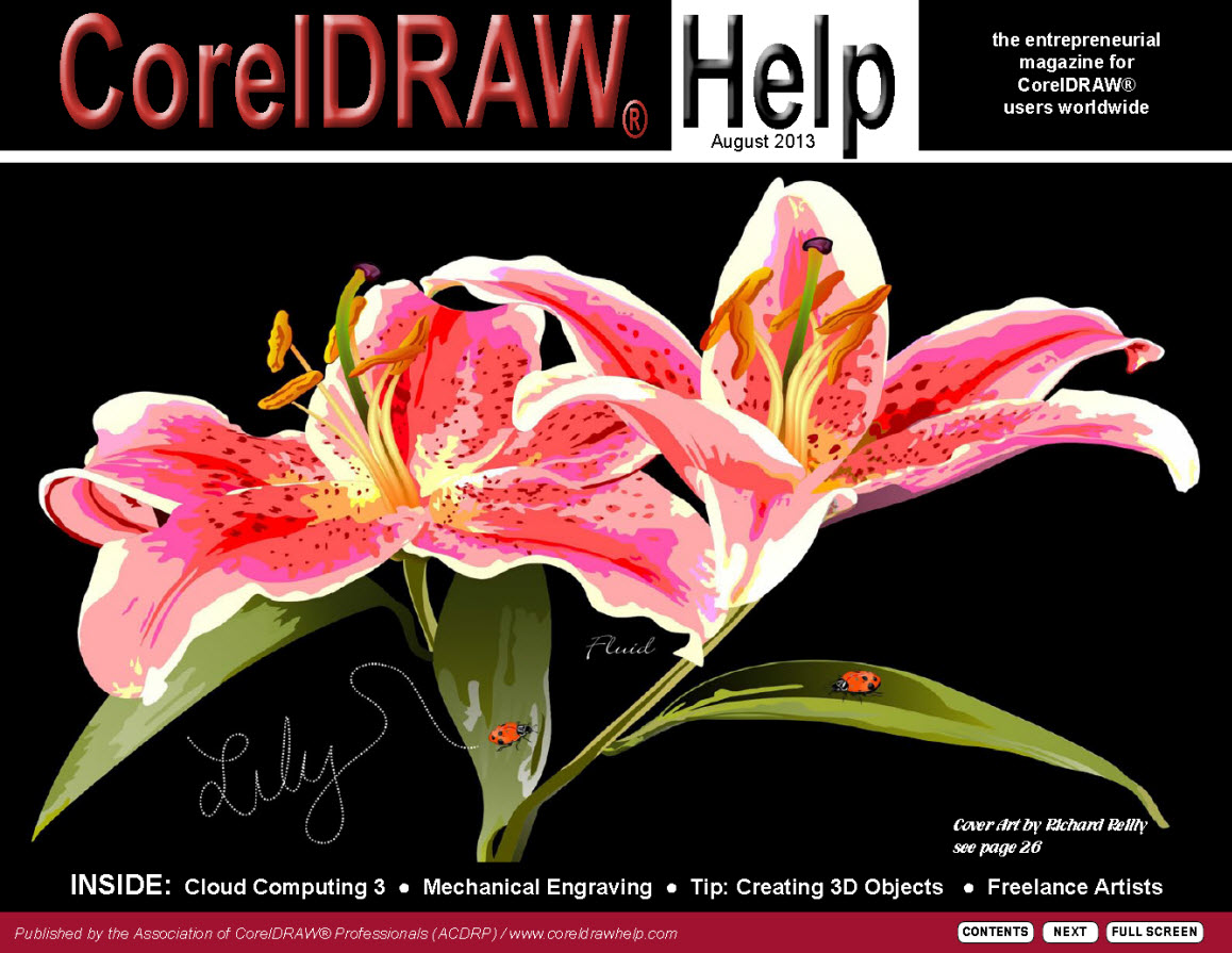 CorelDRAW Help Magazine - August 2013