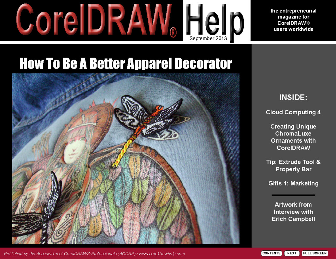 CorelDRAW Help Magazine - September 2013