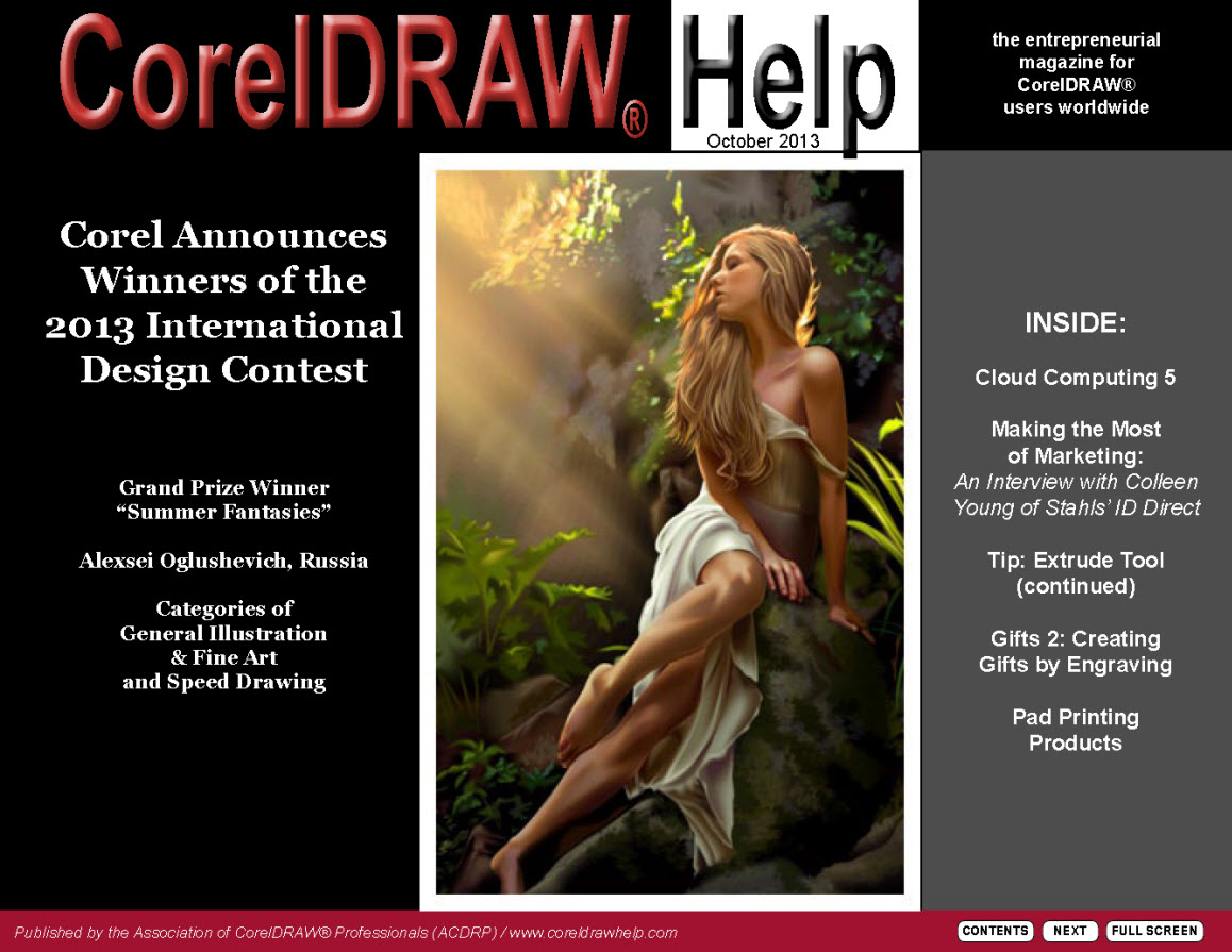 CorelDRAW Help Magazine - October 2013