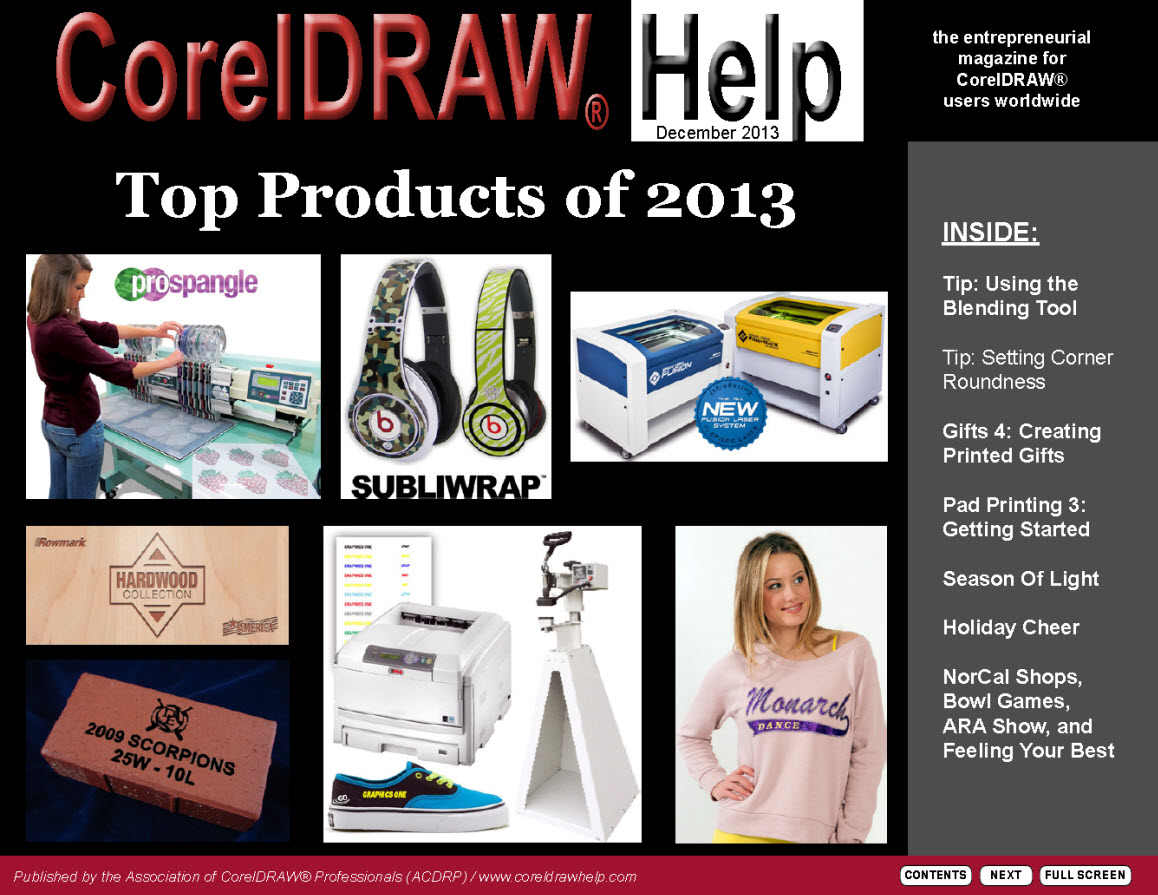 CorelDRAW Help Magazine - December 2013