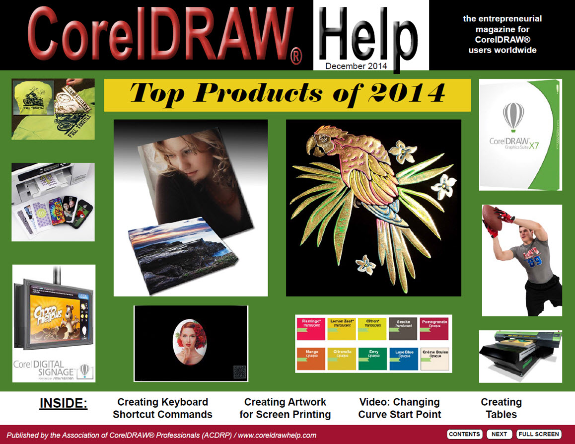 CorelDRAW Help Magazine - December 2014