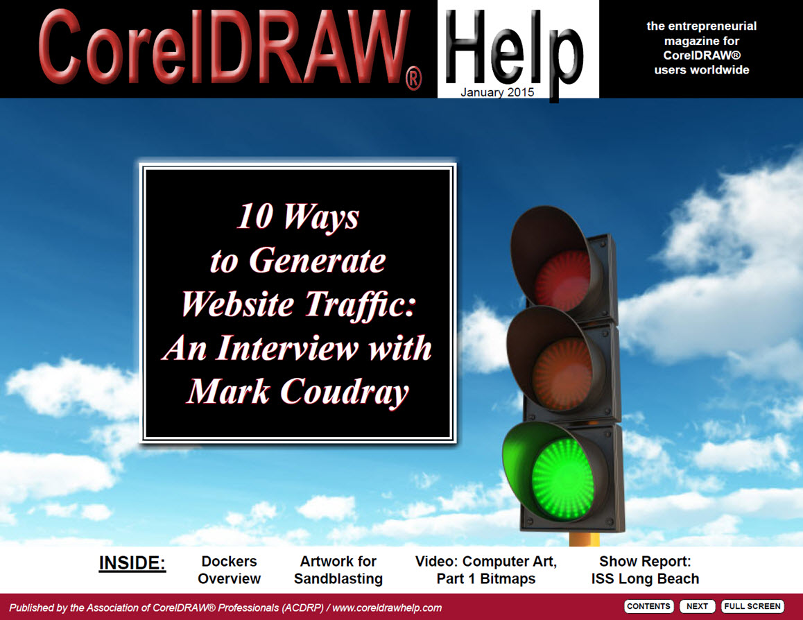 CorelDRAW Help Magazine - January 2015