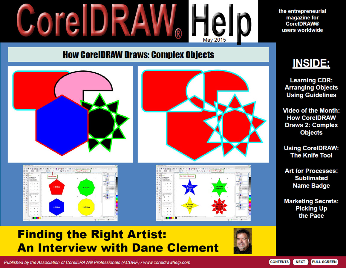 CorelDRAW Help Magazine - May 2015